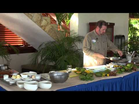 Cooking class at Jade Mountain Saint Lucia