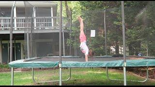 Alphabet Gymnastics Challenge   elleoNyaH