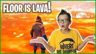 FLOOR IS LAVA!!!