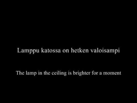 Happoradio - Elossa - Lyrics + Translation