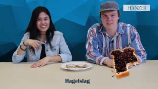 International students try weird Dutch food