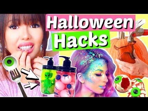 Wirklich coole Halloween Hacks & DIY's | ViktoriaSarina