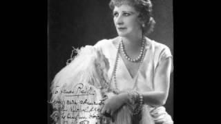 Mary GARDEN ~ L'amour est une vertu rare (THAIS - Massenet) - 1907 Edison Cylinder