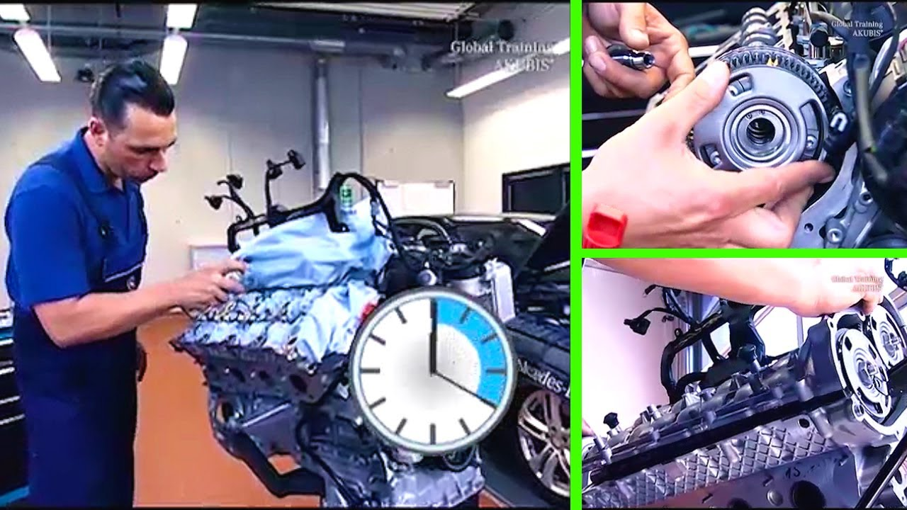v6 engine diagram mercedes benz e class replace timing chain repairs  mercedes benz e class replace timing chain repairs