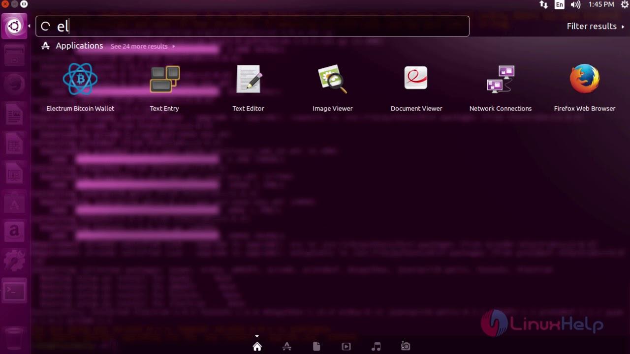 How to Install Electrum Bitcoin Wallet on Ubuntu 16 04