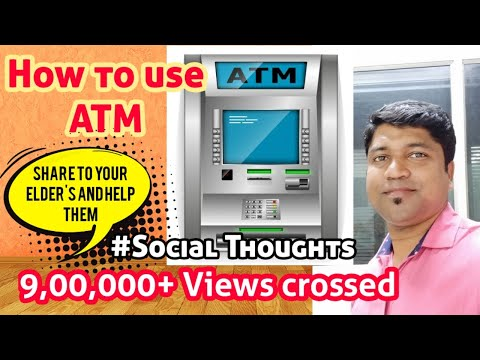 How to Withdraw money from ATM ? [MALAYALAM]SOCIAL THOUGHTS #1