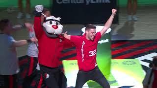 Trail Blazers Fan Wins $5,000 in CenturyLink Challenge