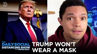 Trump Won't Wear Mask As U.S N…