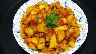 shalgam ki sabzi   indian turnip recipe   recipe 75