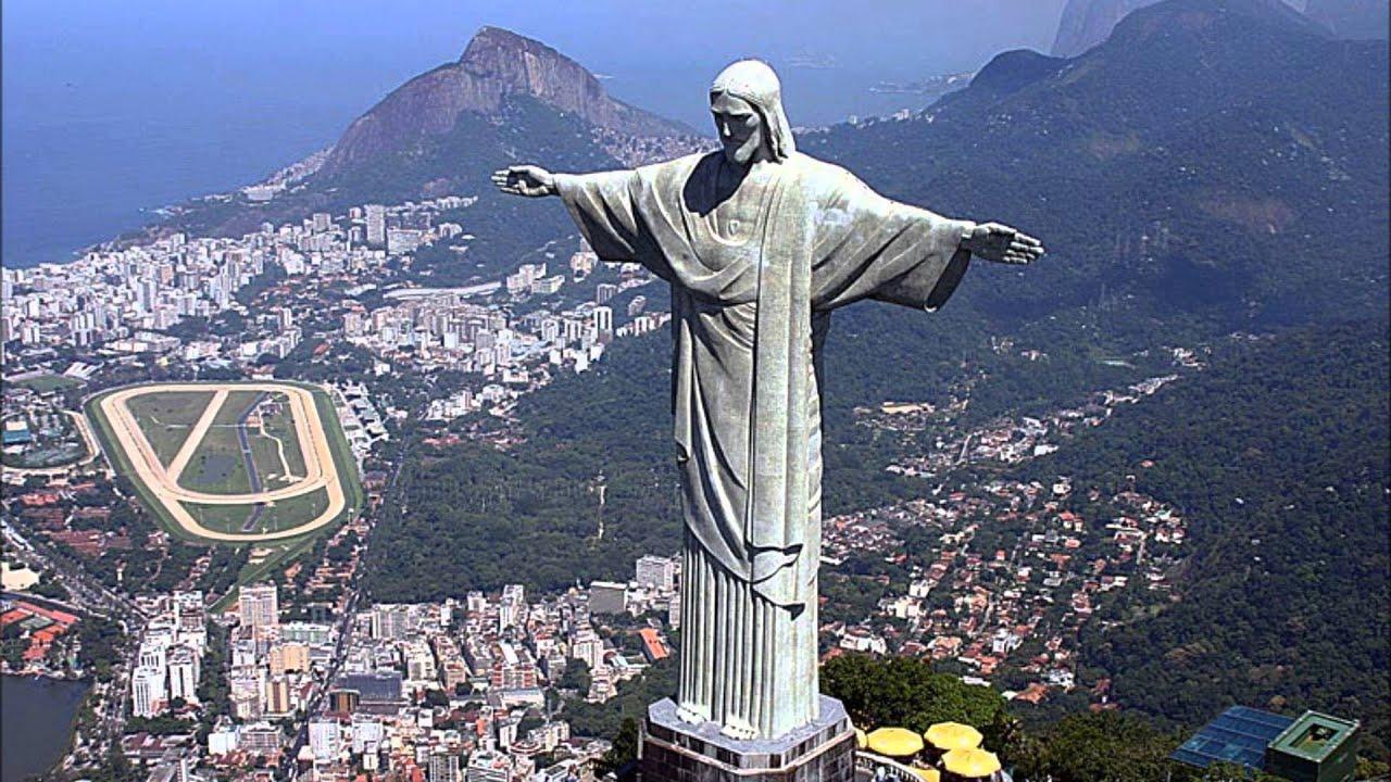 Статуя Христа. Рио-де-Жанейро, Бразилия. Statue of Christ. Rio de ...