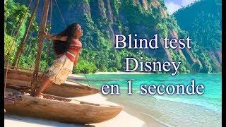 Trouve la chanson Disney en 1 seconde (Blind test)