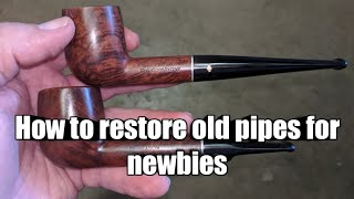 Pipe Restoration for Newbies