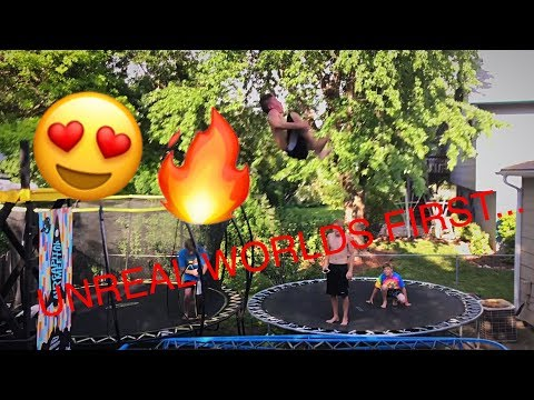 QUAD FLIPS!!! *WORLDS FIRSTS*