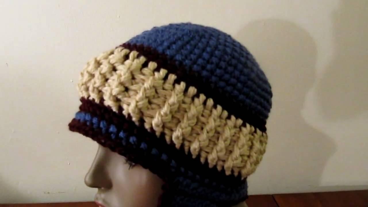 Crochet Snowy Day Hat With Ear Flaps Pattern From Crochet