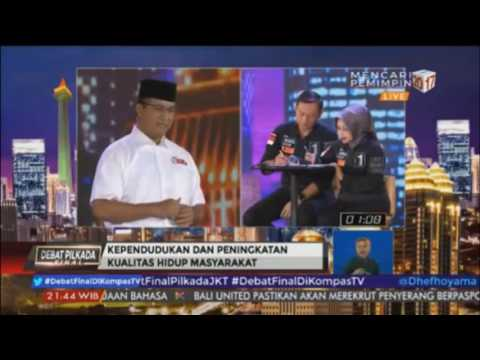 Debat 3 Pilkada DKI Jakarta: Sekarang Era Open Government Bukan Lagi Good Goverment