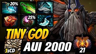 Aui_2000 Tiny God Highlights TV Dota 2