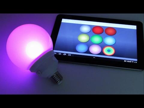 DIY WiFi RGB светильник (ночник) на базе ESP8266 ESP-01