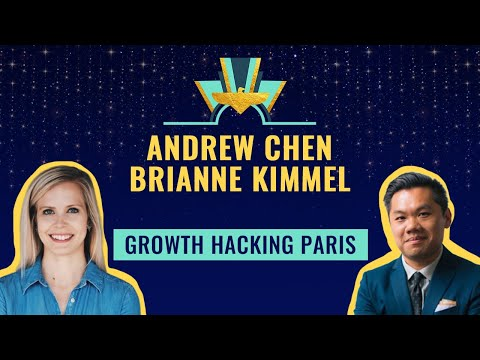 Growth Hacking Paris with Andrew Chen from Uber & Brianne Kimmel from Zendesk