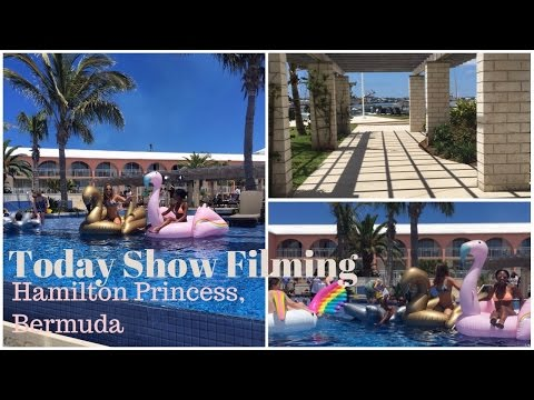 EXPLORE BERMUDA: Today Show Filming, Yachts & Disney Art?