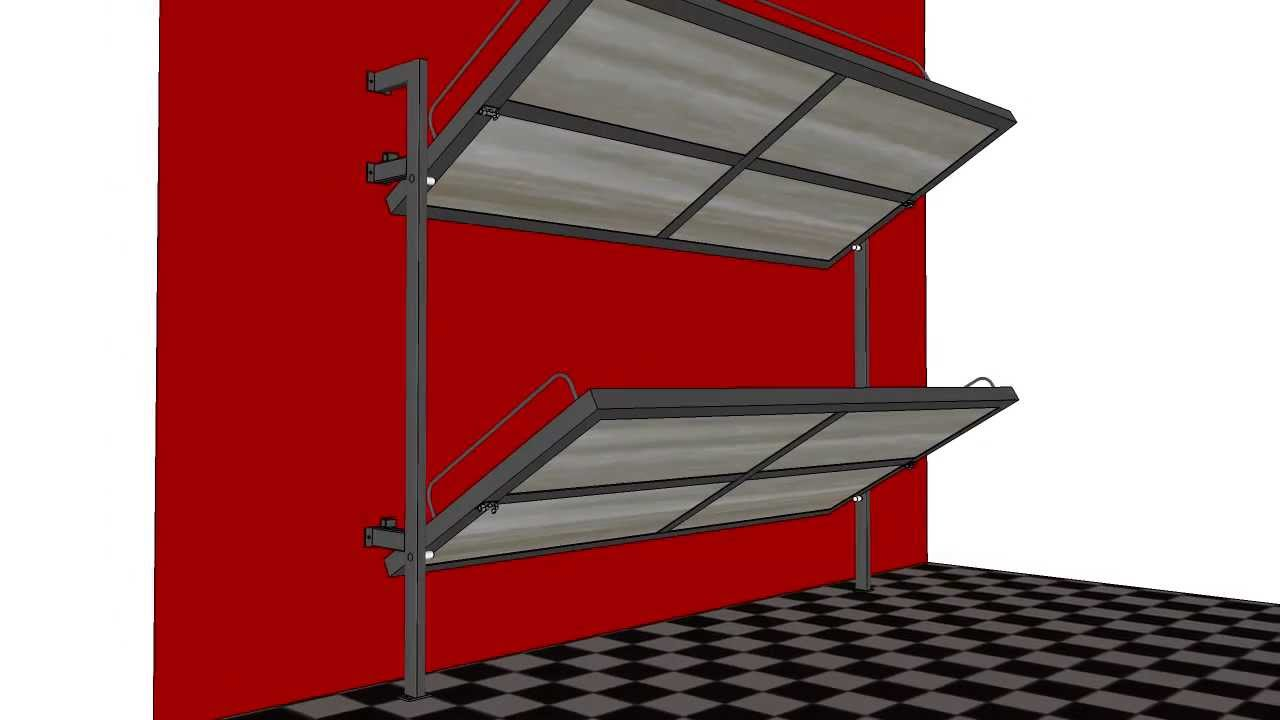 Foldable Bunk Bed Youtube