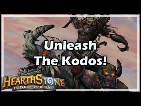 [Hearthstone] Unleash The Kodos!