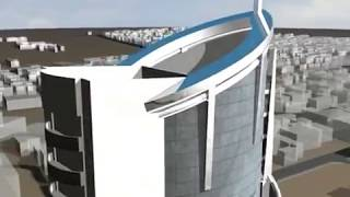 JSB Financial Tower Kathmandu in 3ds max panorama and walkthrough