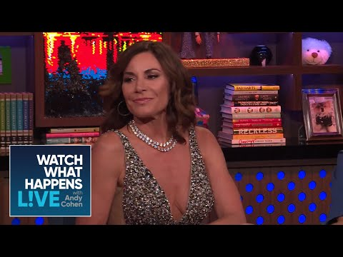 Luann de Lesseps Reacts To The #RHONY Reunion | RHONY | WWHL