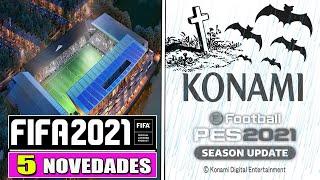 EA SPORTS DEJA SIN ALIENTO A KONAMI CON ESTAS 5 GRANDES NOVEDADES PARA FIFA 21
