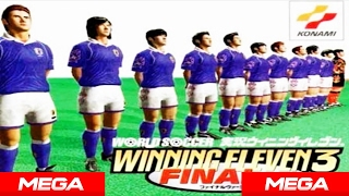 Descargar Winning Eleven 3 Final Version en Español + Equipos All Star y Rumanía por Mega + Gameplay