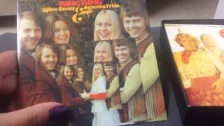 Скачать ASMR Soft Spoken And Sounds Unboxing ABBA The Albums Box Set
