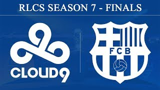 C9 vs Barcelona | RLCS Season 7 - Finals (23rd June 2019)