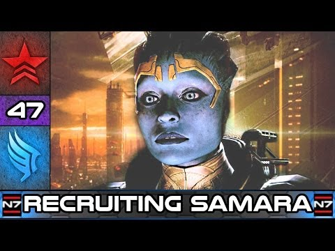 Mass Effect 2: Recruiting Samara the Justicar - Paragon Story Walkthrough #47