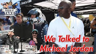 We Called Michael Jordan... AND HE ANSWERED