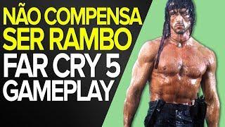 NÃO SEJAS RAMBO EM FAR CRY 5 - STEALTH GAMEPLAY - PT-BR