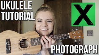 Photograph - Ed Sheeran | EASY UKULELE TUTORIAL