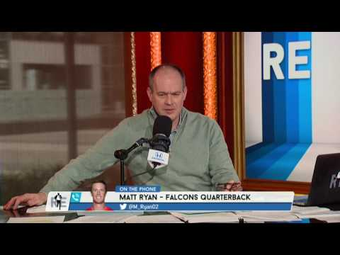 Atlanta Falcons Quarterback Matt Ryan talks about who he would vote for NFL MVP on the RES 1/4/2017