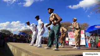 WATCH  Pantsula parade and dance at Ramotswa #pantsula #mapantsula