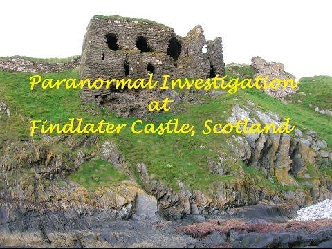 Paranormal Investigation at Findlater Castle, Scotland