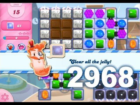 Candy Crush Saga Level 2968 (No boosters)