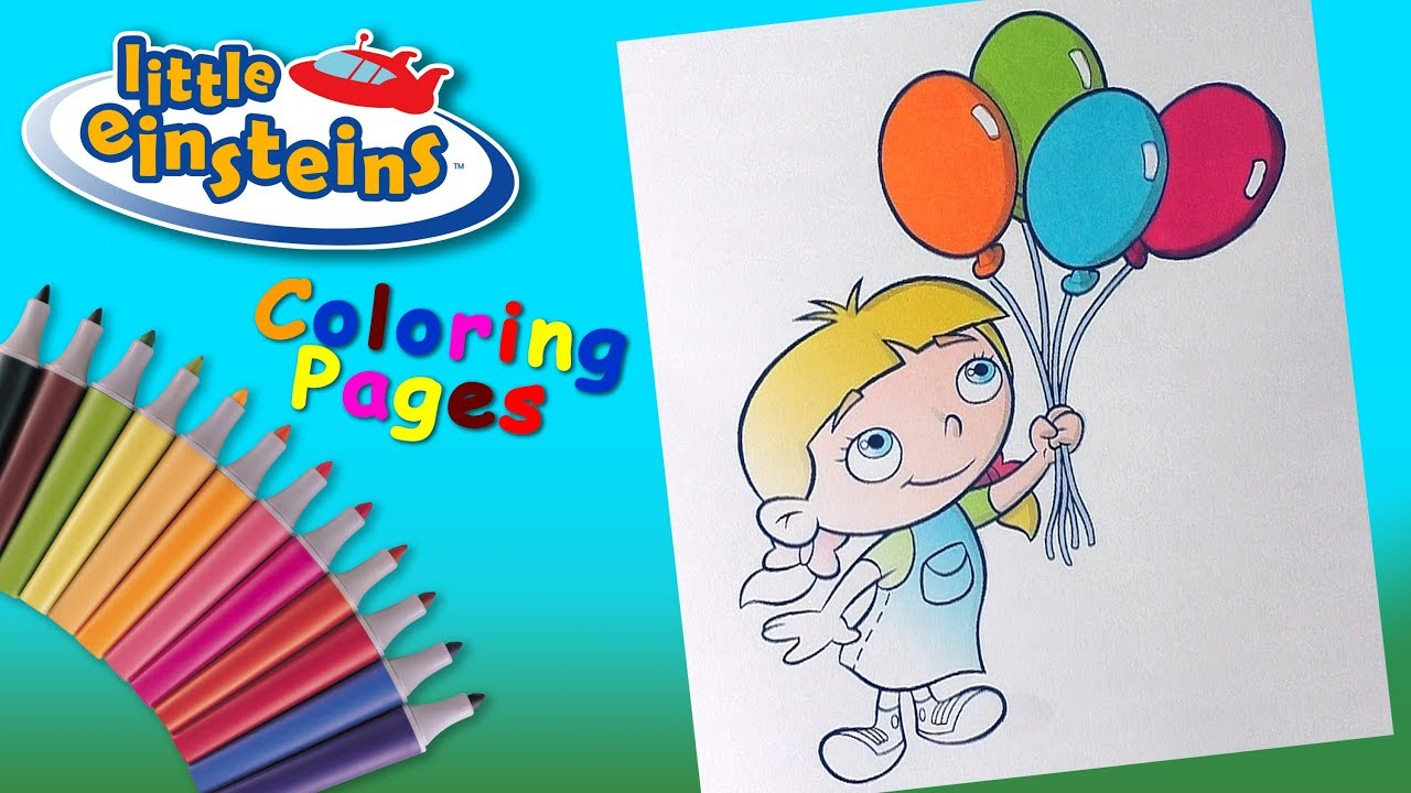 Little Einsteins Coloring Book #ForChildren Annie Coloring Pages ...