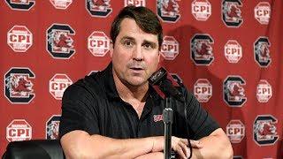 Will Muschamp Weekly News Conference — 9/25/18