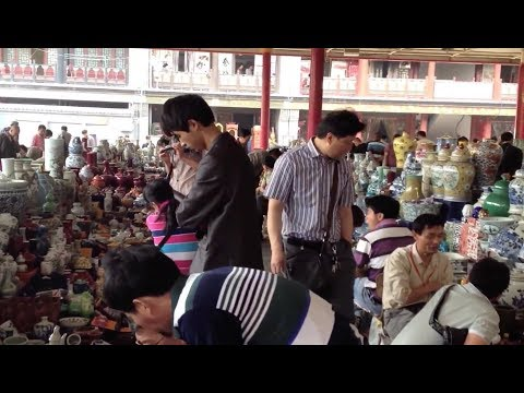 Chinese Porcelain,Fake Antique and Reproduction Market 仿古瓷 古瓷辩伪