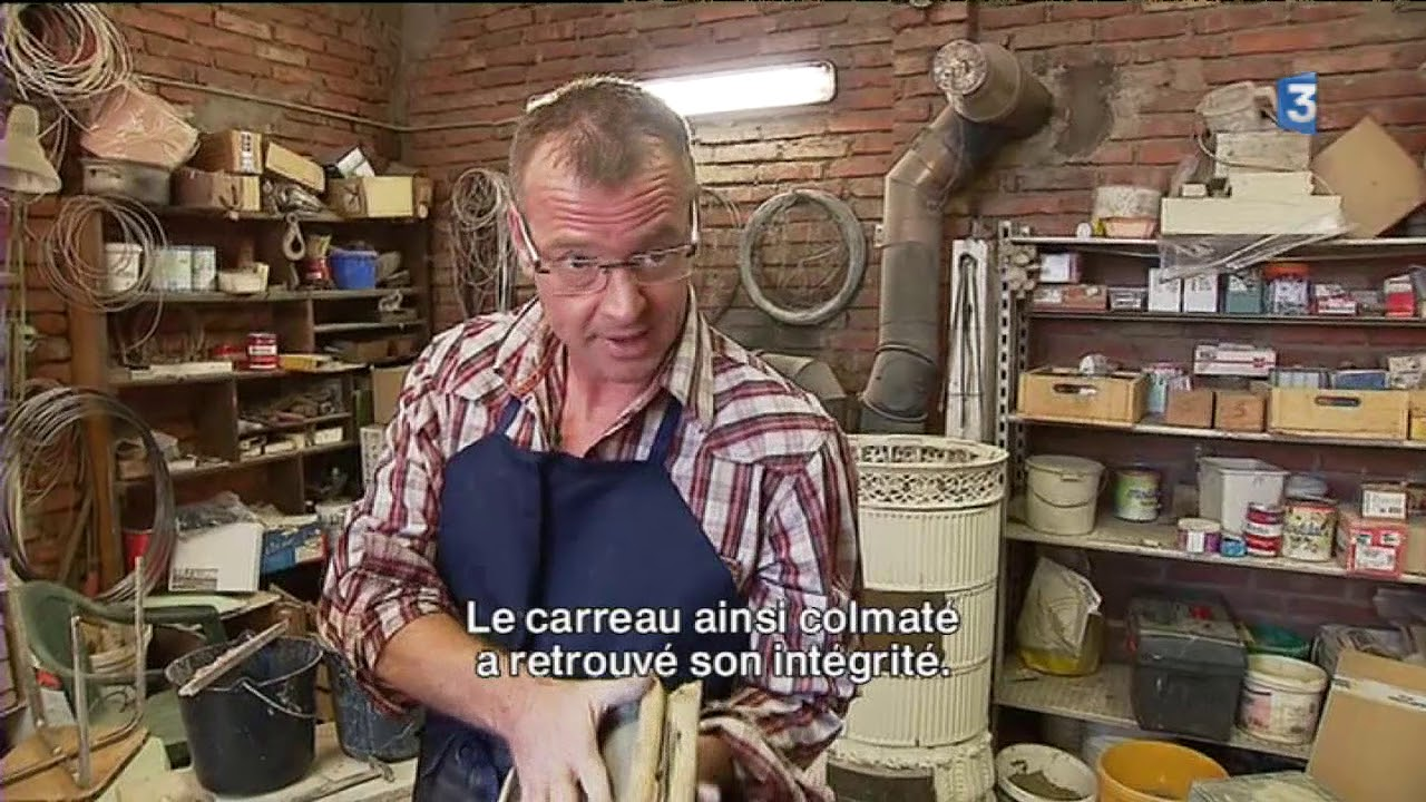 Sébastien Koehler Passionné Des Poêles En Carreaux De Faïence YouTube - Carrelage koehler