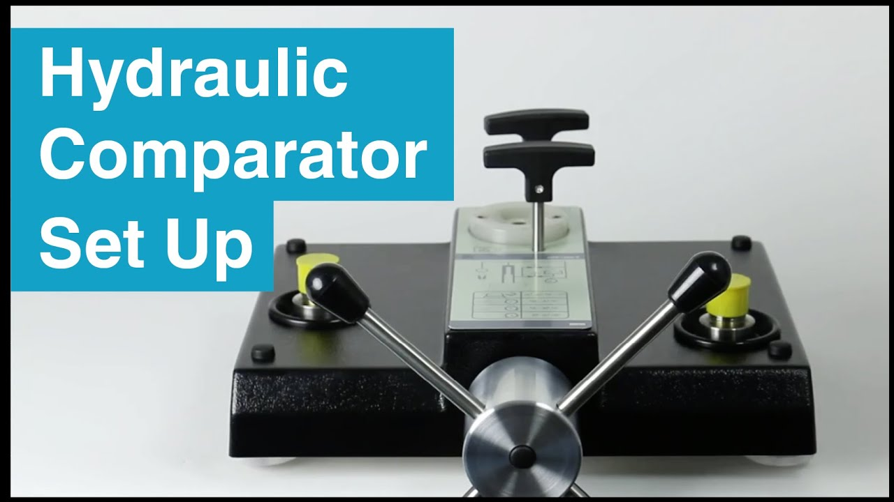 How to Set Up and Operate Hydraulic Pressure Comparators
