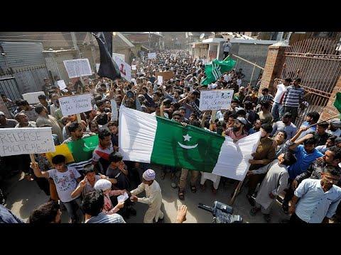 Kaschmir: Indien Verhängt Ausgangssperre Nach Erneuten Protesten