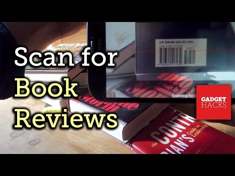 Scan a Book's ISBN Barcode for Instant Reviews on Android [How-To]