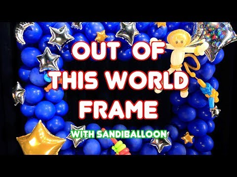 Out Of This World Photo Frame Selfie Station