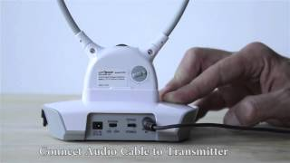 TV LISTENER UNISAR DH900 STEP BY STEP INSTRUCTION VIDEO