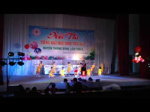 Mái trường tây nguyên, hội thi tiếng hát hs cấp 1 huyện thăng bình quảng nam