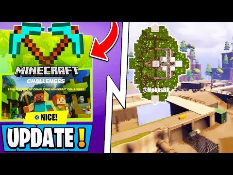 *NEW* Fortnite Update! | Unreleased Map, Minecraft X FN, 200 Free Vbucks!